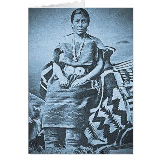 Tecelão geral do Navajo Cartão Comemorativo