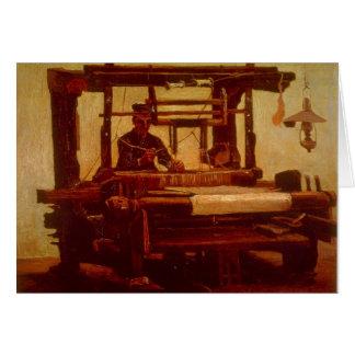 Tecelão por Vincent van Gogh Cartão