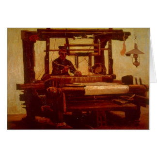 Tecelão por Vincent van Gogh Cartão Comemorativo