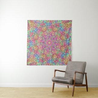 Techno colore a tapeçaria da parede do