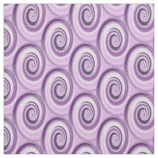 Tecido a escova afaga o redemoinho violeta