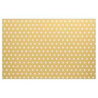 Tecido amarelo e branco do passatempo do teste