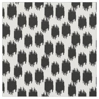 Tecido animal preto do impressão  