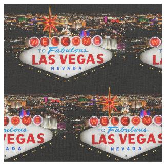 Tecido bem-vindo de Las Vegas