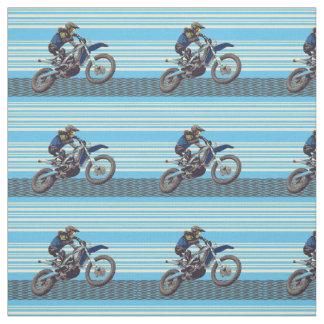 Tecido Cavaleiro de Motorcross