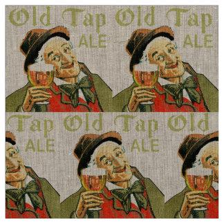 Tecido Cerveja inglesa velha da torneira