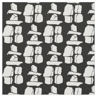 Tecido da arte de Vancôver Inukshuk do tecido da