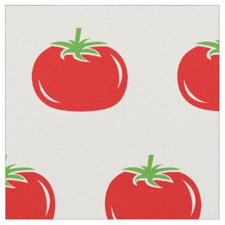 Tecido de matéria têxtil vermelho engraçado do