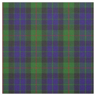 Tecido escocês da xadrez de Tartan de Gunn do clã