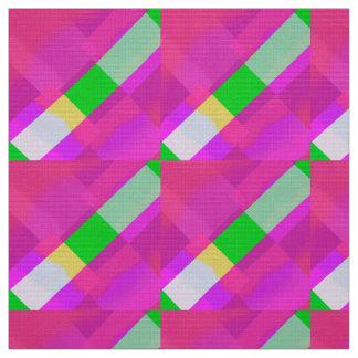 Tecido Figuras cor-de-rosa