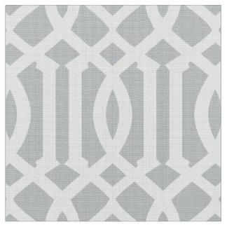 Tecido marroquino de prata do teste padrão  