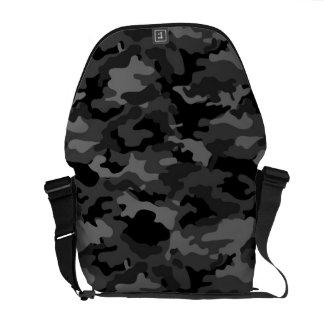Tecido militar do teste padrão da camuflagem de bolsa mensageiro