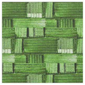 Tecido no teste padrão verde