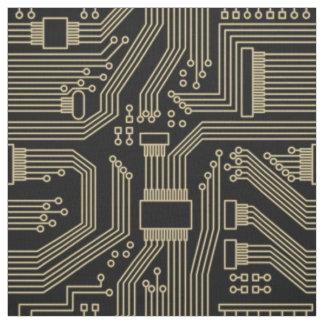 Tecido Ouro ID245 do teste padrão do conselho de circuito