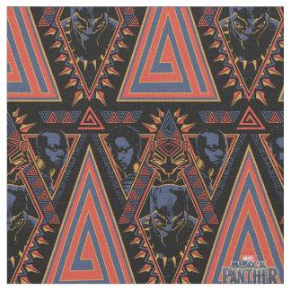 Tecido Painel tribal dos guerreiros da pantera preta |