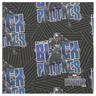 Tecido Pantera preta | T'Challa - gráfico da pantera