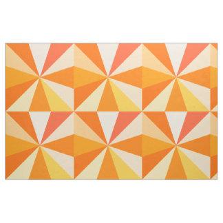 Tecido Raios 60s geométricos Funky modernos do pop art na
