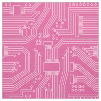 Tecido Rosa ID245 do teste padrão do conselho de circuito