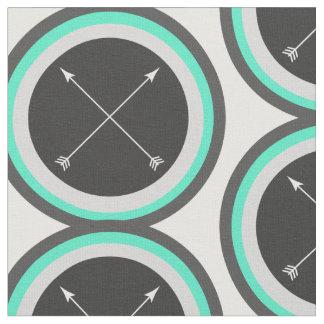 Tecido Setas dos círculos N