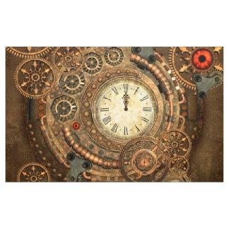Tecido Steampunk, maquinismo de relojoaria maravilhoso