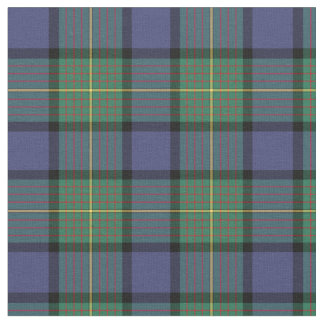 Tecido Tartan do Scottish de Muir do clã