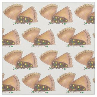Tecido Torta de carne pastosa Foodie da península