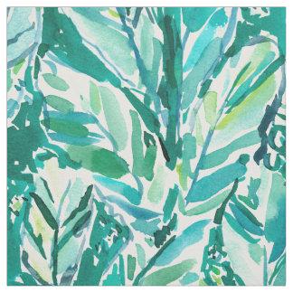 Tecido Verde da SELVA da FOLHA da BANANA tropical