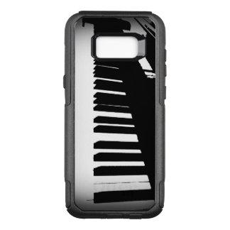 Teclado de piano capa OtterBox commuter para samsung galaxy s8+