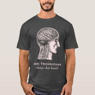 Técnicos de MRI: Sempre claro dirigido - varredura T-shirts