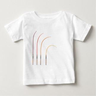 Tecnologia curvada do clipart da ilustração do camiseta