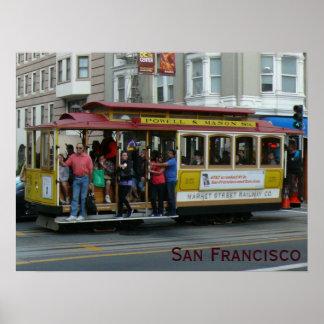 Teleférico de San Francisco Impressão