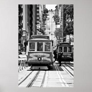 TELEFÉRICO EM SAN FRANCISCO POSTER