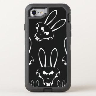 Telefone branco de J. Coelho Logotipo Capa Para iPhone 8/7 OtterBox Defender