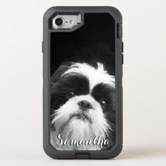 Telefone de Otterbox do cão de Shih Tzu Capa Para iPhone 8/7 OtterBox Defender
