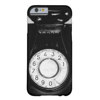 Telefone retro capa barely there para iPhone 6