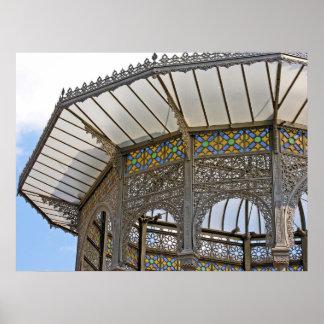 Telhado decorativo (1) pôster