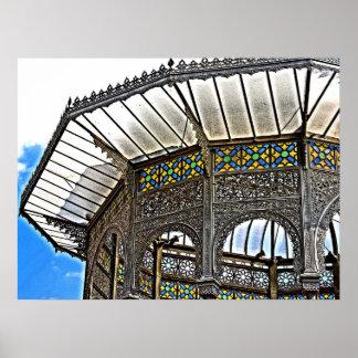 Telhado decorativo (3) pôster