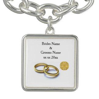 Tema escocês e celta tradicional da aliança de bracelete