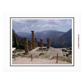 Templo de Apollo Cartão Postal