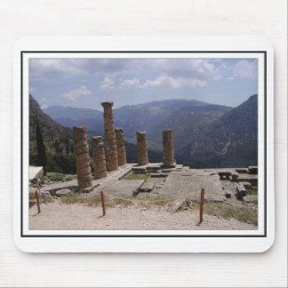 Templo de Apollo Mouse Pad