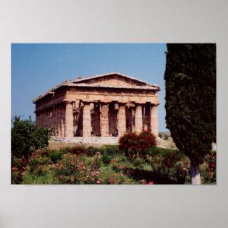 Templo de Hera Poster