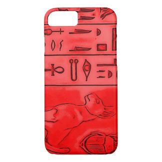 Templo egípcio do faraó do rubi capa iPhone 8/7