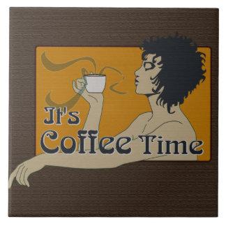 """Tempo 6"""" do café x 6"""" azulejo"""