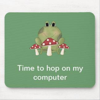 Tempo ao salto em meu computador Mousepad