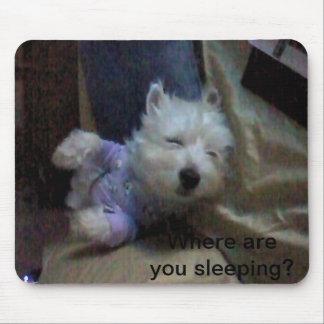 Tempo da cama mouse pad