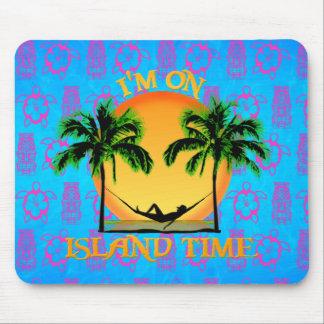 Tempo da ilha mouse pad