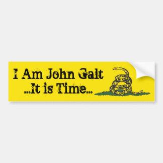 Tempo de Gadsden John Galt Adesivo Para Carro