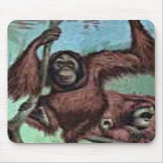 tempo de macaco mousepad