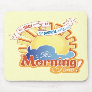 Tempo de manhã Mousepad