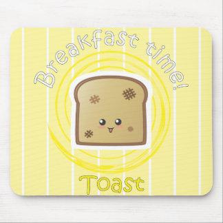 Tempo de pequeno almoço - brinde mouse pad